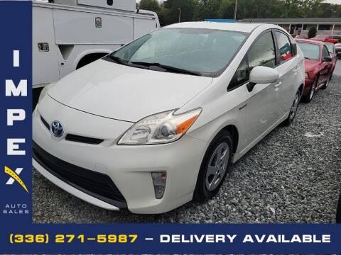 2013 Toyota Prius for sale at Impex Auto Sales in Greensboro NC