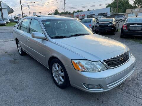 2000 Toyota Avalon for sale at Green Ride Inc in Nashville TN
