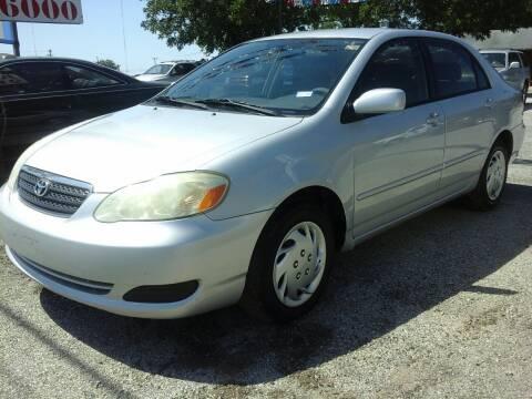2008 Toyota Corolla for sale at John 3:16 Motors in San Antonio TX