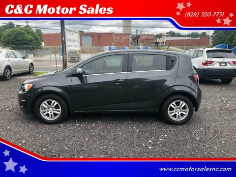 2014 Chevrolet Sonic for sale at C&C Motor Sales LLC in Hudson NC
