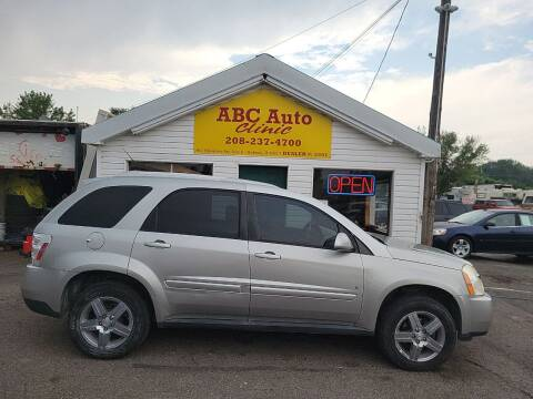 2008 Chevrolet Equinox for sale at ABC AUTO CLINIC in Chubbuck ID
