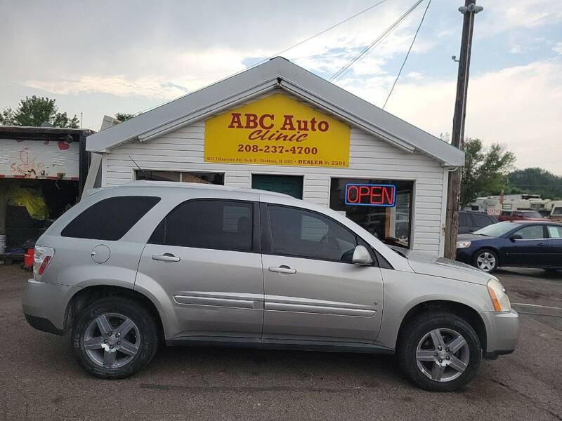 2008 Chevrolet Equinox for sale at ABC AUTO CLINIC - Chubbuck in Chubbuck ID