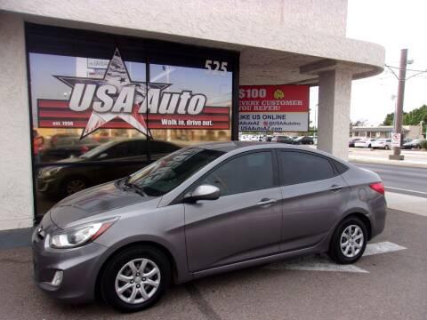 2014 Hyundai Accent for sale at USA Auto Inc in Mesa AZ