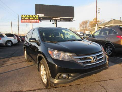 2013 Honda CR-V for sale at Hanna's Auto Sales in Indianapolis IN