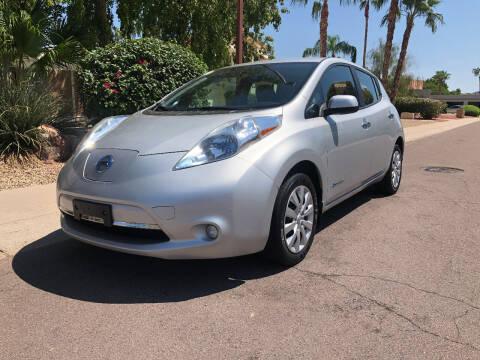 2013 Nissan LEAF for sale at Arizona Hybrid Cars in Scottsdale AZ