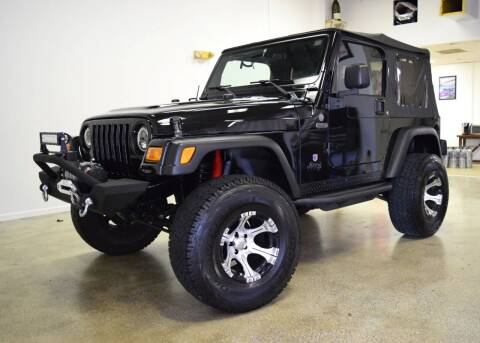 2004 Jeep Wrangler for sale at Thoroughbred Motors in Wellington FL