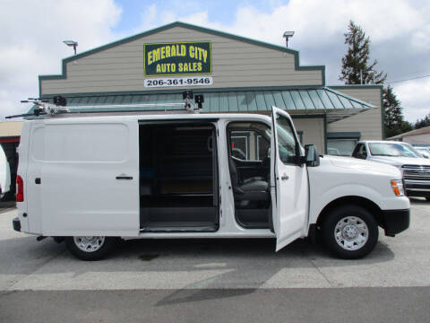2021 Nissan NV Cargo for sale at Emerald City Auto Inc in Seattle WA