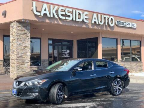 2016 Nissan Maxima for sale at Lakeside Auto Brokers in Colorado Springs CO