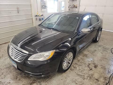 2011 Chrysler 200 for sale at Jem Auto Sales in Anoka MN
