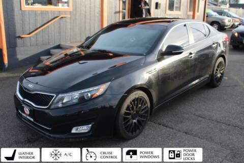 2014 Kia Optima for sale at Sabeti Motors in Tacoma WA
