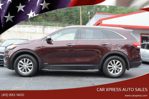 2016 Kia Sorento for sale at Car Xpress Auto Sales in Pittsburgh PA