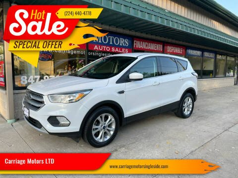 2017 Ford Escape for sale at Carriage Motors LTD in Ingleside IL