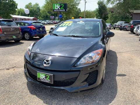 2013 Mazda MAZDA3 for sale at BK2 Auto Sales in Beloit WI