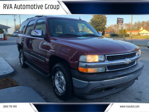 2005 Chevrolet Tahoe for sale at RVA Automotive Group in North Chesterfield VA
