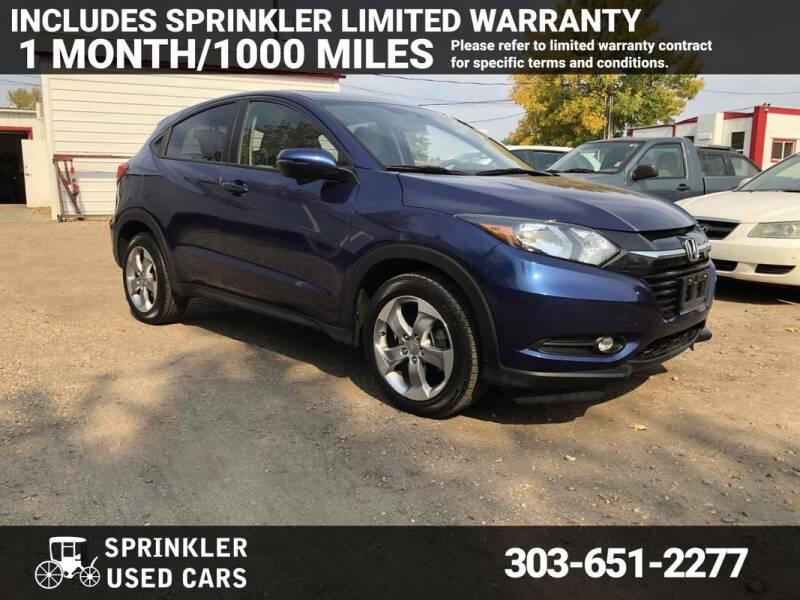 2017 Honda HR-V for sale at Sprinkler Used Cars in Longmont CO