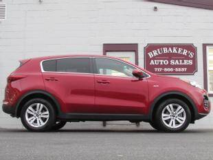 2018 Kia Sportage for sale at Brubakers Auto Sales in Myerstown PA