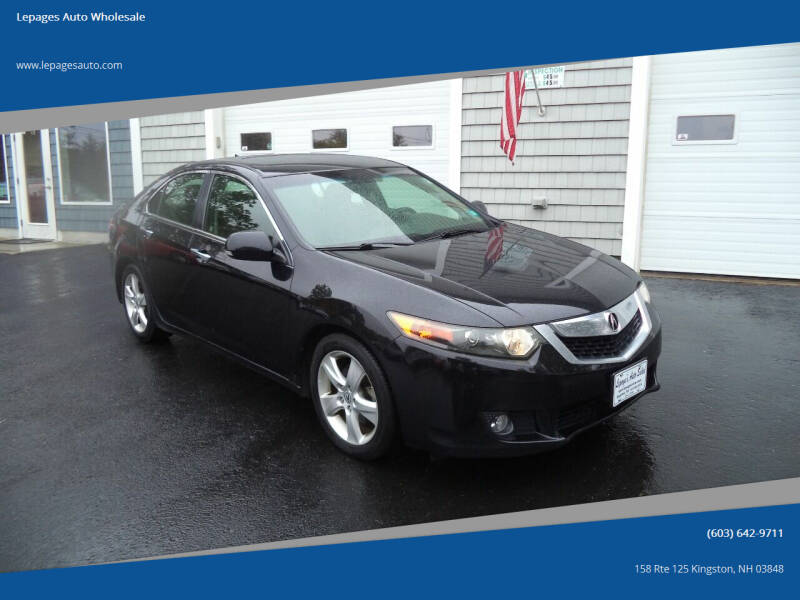 2010 Acura TSX for sale at Lepages Auto Wholesale in Kingston NH