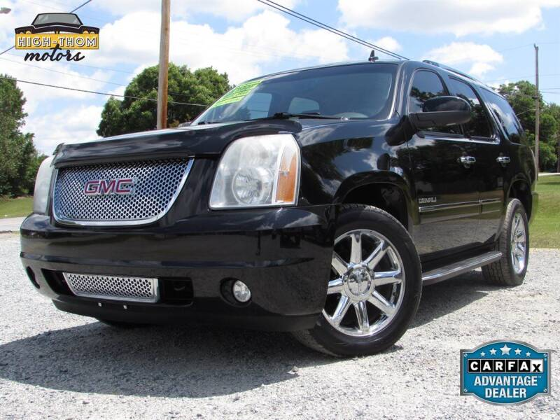 2011 GMC Yukon for sale at High-Thom Motors in Thomasville NC