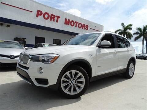 2017 BMW X3 for sale at Automotive Credit Union Services in West Palm Beach FL
