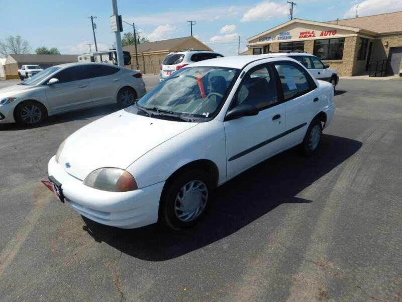 2001 Chevrolet Metro for sale at Will Deal Auto & Rv Sales in Great Falls MT