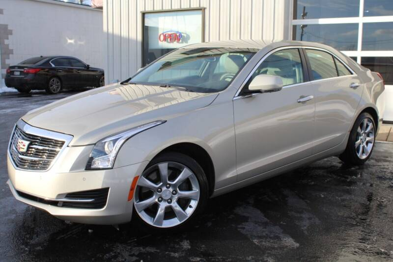 2015 Cadillac ATS for sale at Platinum Motors LLC in Reynoldsburg OH