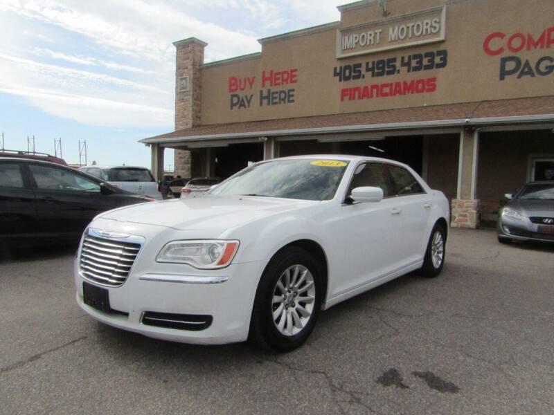 2013 Chrysler 300 for sale at Import Motors in Bethany OK