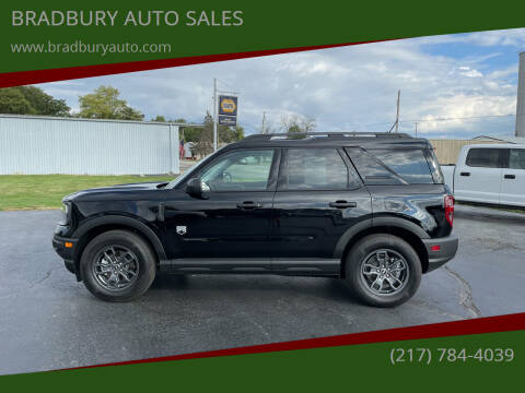 2021 Ford Bronco Sport for sale at BRADBURY AUTO SALES in Gibson City IL