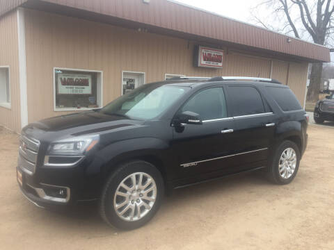 2016 GMC Acadia for sale at Palmer Welcome Auto in New Prague MN