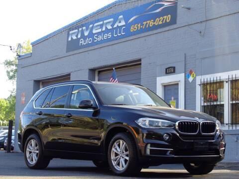 2014 BMW X5 for sale at Rivera Auto Sales LLC in Saint Paul MN