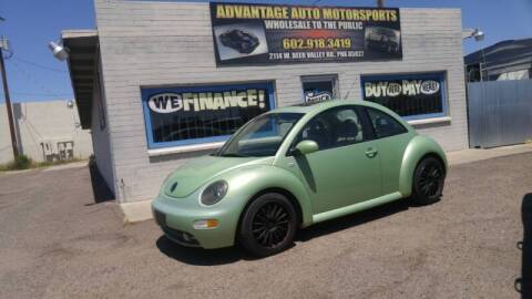 2002 Volkswagen New Beetle for sale at Advantage Motorsports Plus in Phoenix AZ