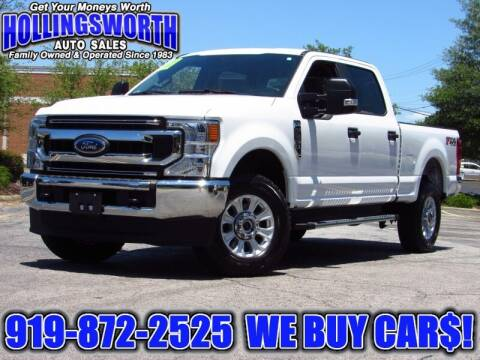 2020 Ford F-250 Super Duty for sale at Hollingsworth Auto Sales in Raleigh NC