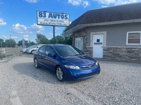 2007 Honda Civic for sale at 83 Autos in York PA
