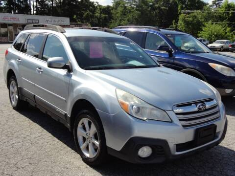 2013 Subaru Outback for sale at HAPPY TRAILS AUTO SALES LLC in Taylors SC