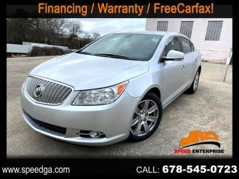 2012 Buick LaCrosse for sale at JES Auto Sales LLC in Fairburn GA