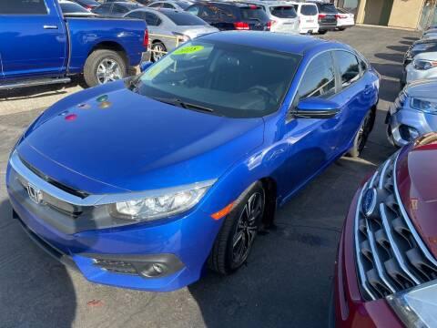 2018 Honda Civic for sale at CURIEL'S AUTO SALES LLC in Yuma AZ