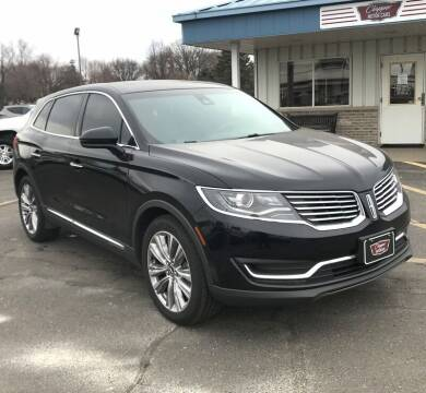 2016 Lincoln MKX for sale at Clapper MotorCars in Janesville WI