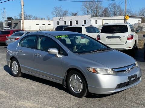 2007 Honda Civic for sale at MetroWest Auto Sales in Worcester MA