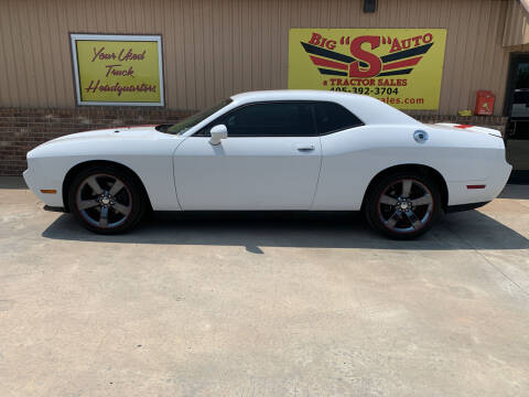 2013 Dodge Challenger for sale at BIG 'S' AUTO & TRACTOR SALES in Blanchard OK