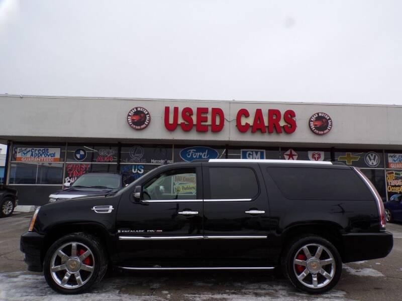 2007 Cadillac Escalade ESV for sale at Ford Road Motor Sales in Dearborn MI