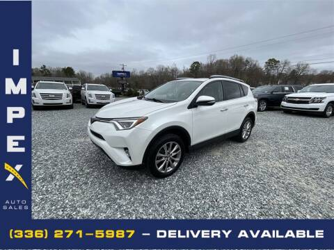 2017 Toyota RAV4 for sale at Impex Auto Sales in Greensboro NC