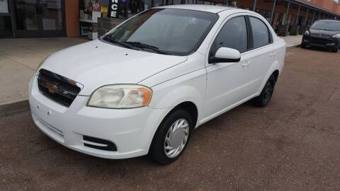 2011 Chevrolet Aveo for sale at The Auto Toy Store in Robinsonville MS