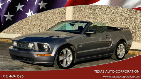 2006 Ford Mustang for sale at Texas Auto Corporation in Houston TX