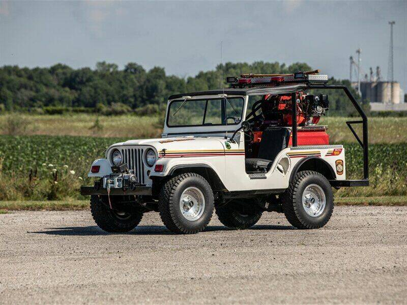 1952 Jeep Willys M38A1 for sale at Abreu Motors in Carmel IN