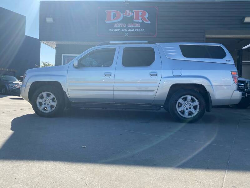 2006 Honda Ridgeline for sale at D & R Auto Sales in South Sioux City NE