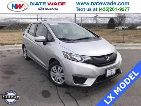 2016 Honda Fit for sale at NATE WADE SUBARU in Salt Lake City UT