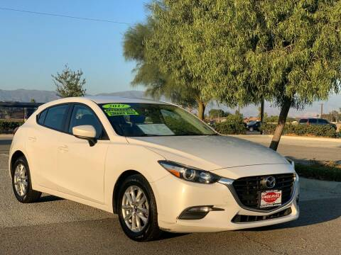 2017 Mazda MAZDA3 for sale at Esquivel Auto Depot in Rialto CA