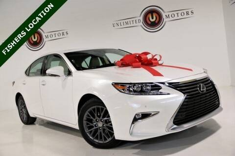 2018 Lexus ES 350 for sale at Unlimited Motors in Fishers IN