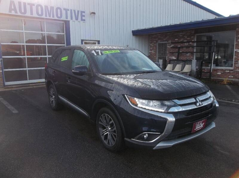 2017 Mitsubishi Outlander for sale at Valley Automotive in Peterborough NH