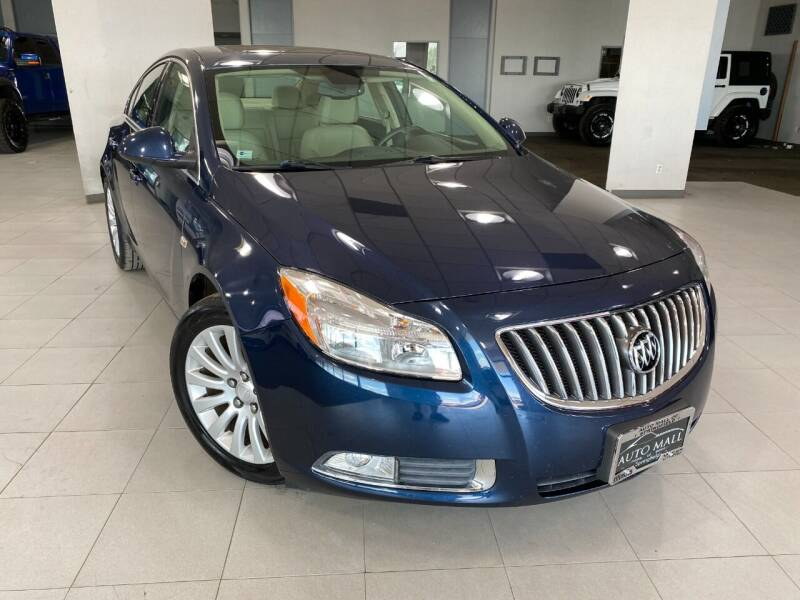 2011 Buick Regal for sale at Auto Mall of Springfield in Springfield IL