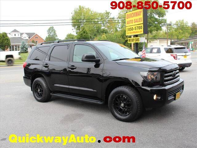 2012 Toyota Sequoia for sale at Quickway Auto Sales in Hackettstown NJ